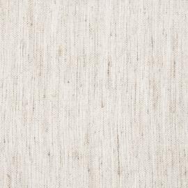 White Natural Sheer Linen Fabric Sample  Twist