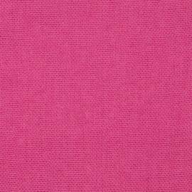 Bright Pink Linen Fabric Sample Rustico