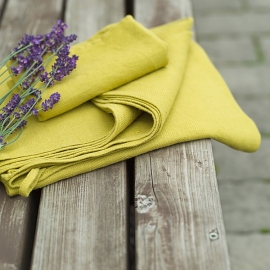 Citrine Linen Towels Set Lara