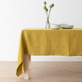 Linen Tablecloth Citrine Lara