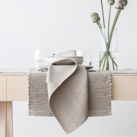 Placemat Natural Linen Lara