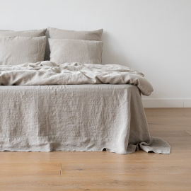 Natural Stone Washed Bed Linen Flat Sheet
