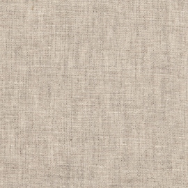 Natural Linen Fabric Sample Stone Washed