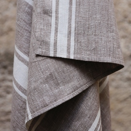 Bath Towel Beige  Linen Provance