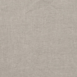 Taupe Linen Fabric Sample Stone Washed