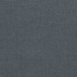 Linen Fabric Washed Blue Stone Washed