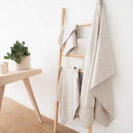 Bath Towel Birch Linen Francesca
