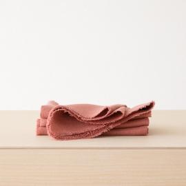 Linen Napkin Canyon Rose Rustic