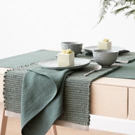 Linen Placemat Balsam Green Lara