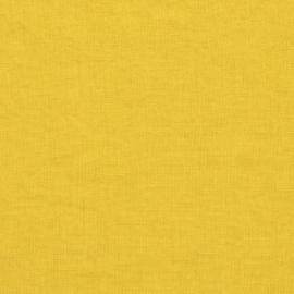 Citrine Linen Fabric Stone Washed