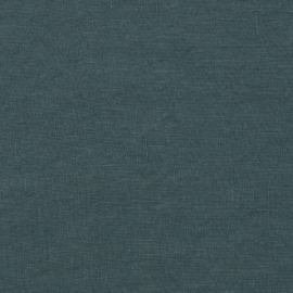 Balsam Green Linen Fabric Stone Washed