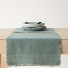 Placemat Spa Green Linen Rustic