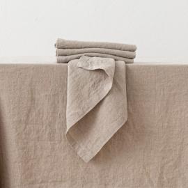 Stone Washed Linen Napkin Natural
