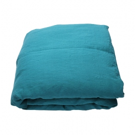 Sapphire Stone Washed Bed Linen Duvet