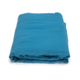 Sea Blue Stone Washed Bed Linen Duvet