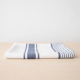 Linen Bath Towel Indigo Tuscany