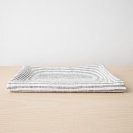 Linen Bath Towel Graphite Brittany