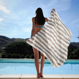 100% Cashmere Throw Emilio Aqua