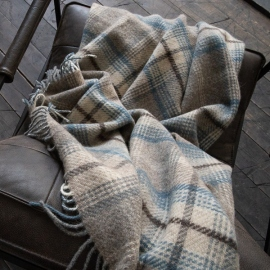 Brown Wool Throw Donato