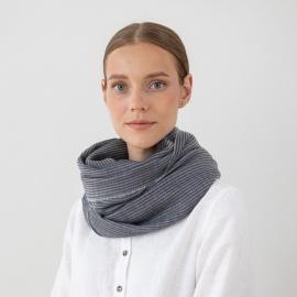 Grey Wool Scarf Fabiene