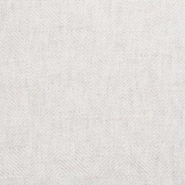 Silver Linen Fabric Stone Washed Rhomb Prewashed