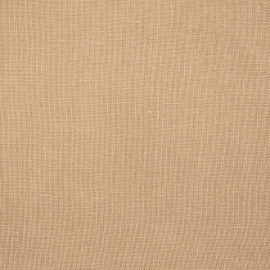 Linen Fabric Plain Brown