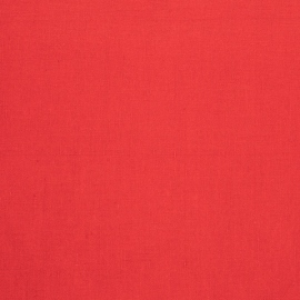 Linen Fabric Sample Paula Red