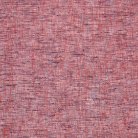 Linen Sheer Fabric Purple Twist Open