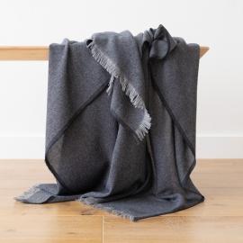 Cashmere Wool Throw Beige Salvatore