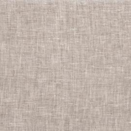 Linen Fabric Sample Crushed Melange Natural