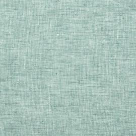 Linen Fabric Sample Crushed Melange Mint