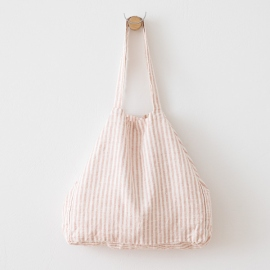 Rosa Linen Beach Bag Brittany