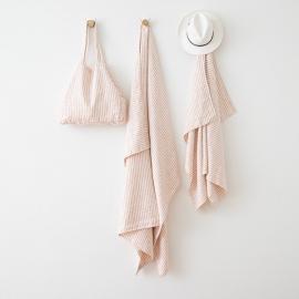 Linen Beach Sheet Brittany Rosa