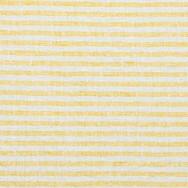 Yellow Linen Fabric Brittany Washed
